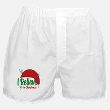 Believe In Christmas Boxer Shorts