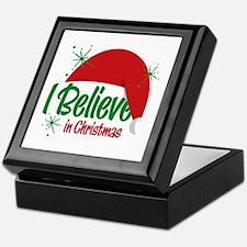 Believe In Christmas Keepsake Box