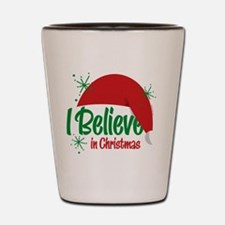 Believe In Christmas Shot Glass