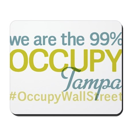 Occupy Tampa Mousepad