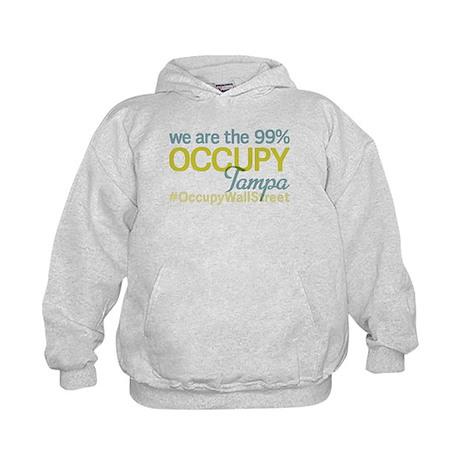 Occupy Tampa Kids Hoodie