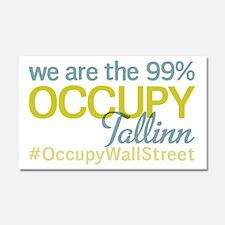 Occupy Tallinn Car Magnet 20 x 12