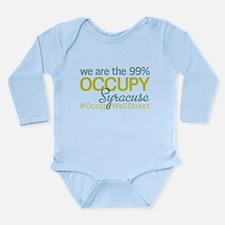 Occupy Syracuse Long Sleeve Infant Bodysuit