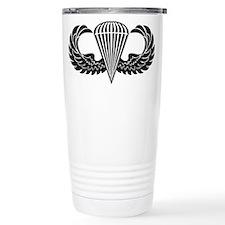 Jump Wings Stencil Travel Mug