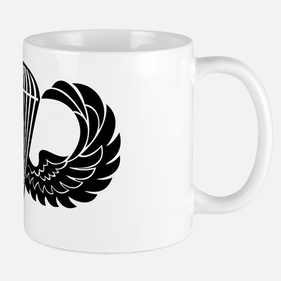 Jump Wings Stencil Mug