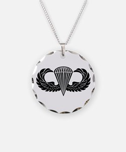 Jump Wings Stencil Necklace