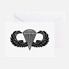 Jump Wings Stencil Greeting Cards (Pk of 10)