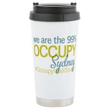 Occupy Sydney Travel Mug