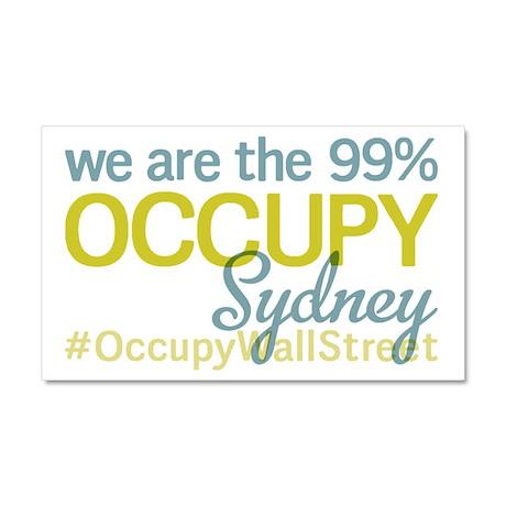 Occupy Sydney Car Magnet 20 x 12