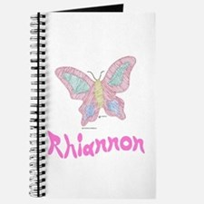 Pink Butterfly Rhiannon Journal