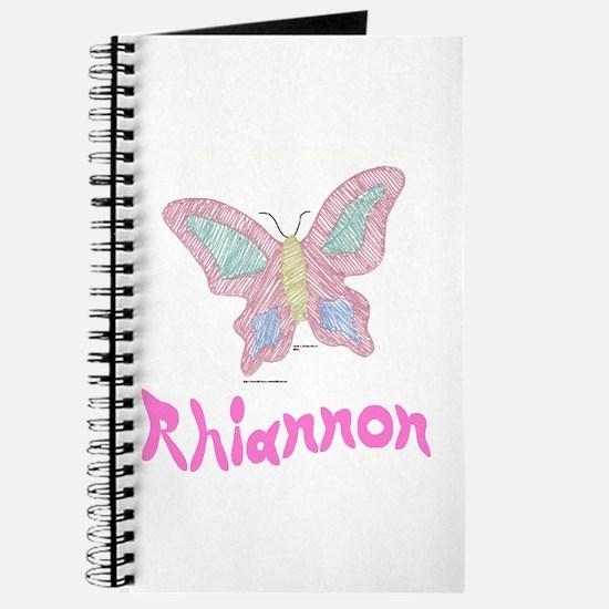 Pink Butterfly Rhiannon Journal