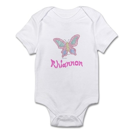 Pink Butterfly Rhiannon Infant Creeper