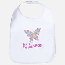 Pink Butterfly Rhiannon Bib