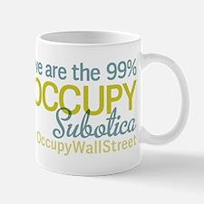 Occupy Subotica Small Small Mug