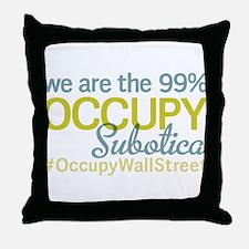 Occupy Subotica Throw Pillow