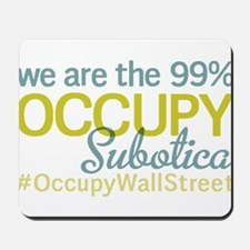 Occupy Subotica Mousepad