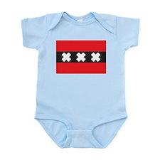 Amsterdam Flag Infant Creeper