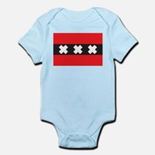 Amsterdam Flag Infant Creeper