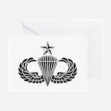 Sr. Parachutist Greeting Cards (Pk of 10)