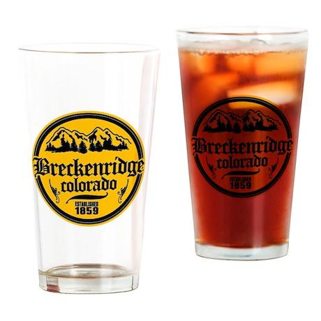 Breckenridge Colorado Drinking Glass