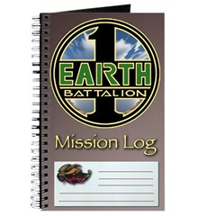 First Earth Battalion Mission Log & Notebook
