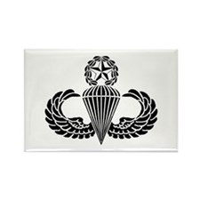 Master Parachutist Rectangle Magnet