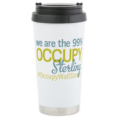 Occupy Sterling Heights Stainless Steel Travel Mug