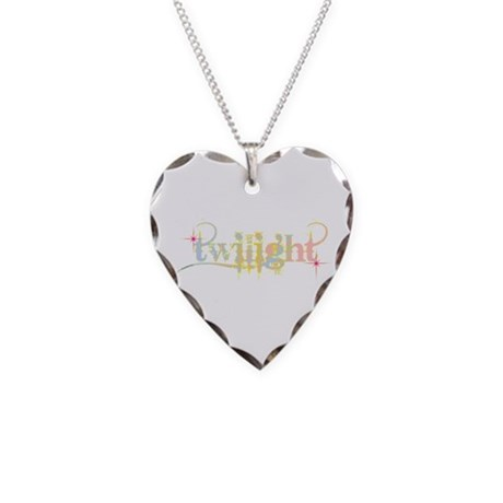 New Twilight Designs Necklace Heart Charm