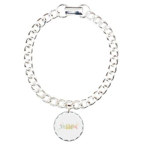 New Twilight Designs Charm Bracelet, One Charm