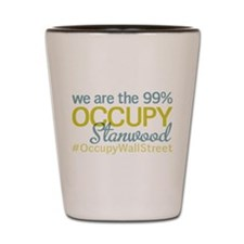 Occupy Stanwood Shot Glass