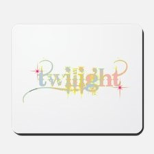 Twilight Pastel Tie-Dye Mousepad
