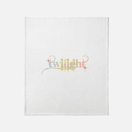 Twilight Pastel Tie-Dye Throw Blanket