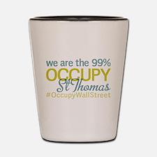Occupy St Thomas Shot Glass