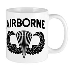 Jump Wings Stencil (2) Small Mug