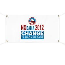 Not Obama 2012 Banner