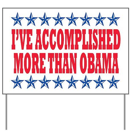 Not Obama 2012 Yard Sign