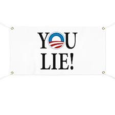 Obama lies Banner