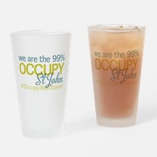 Occupy St John Drinking Glass