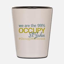 Occupy St John Shot Glass