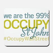 Occupy St John Mousepad
