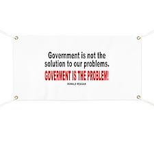Ronald reagan quote Banner