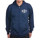 Navy RID Zip Hoodie