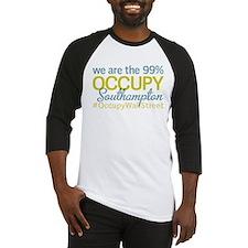 Occupy Southampton Baseball Jersey