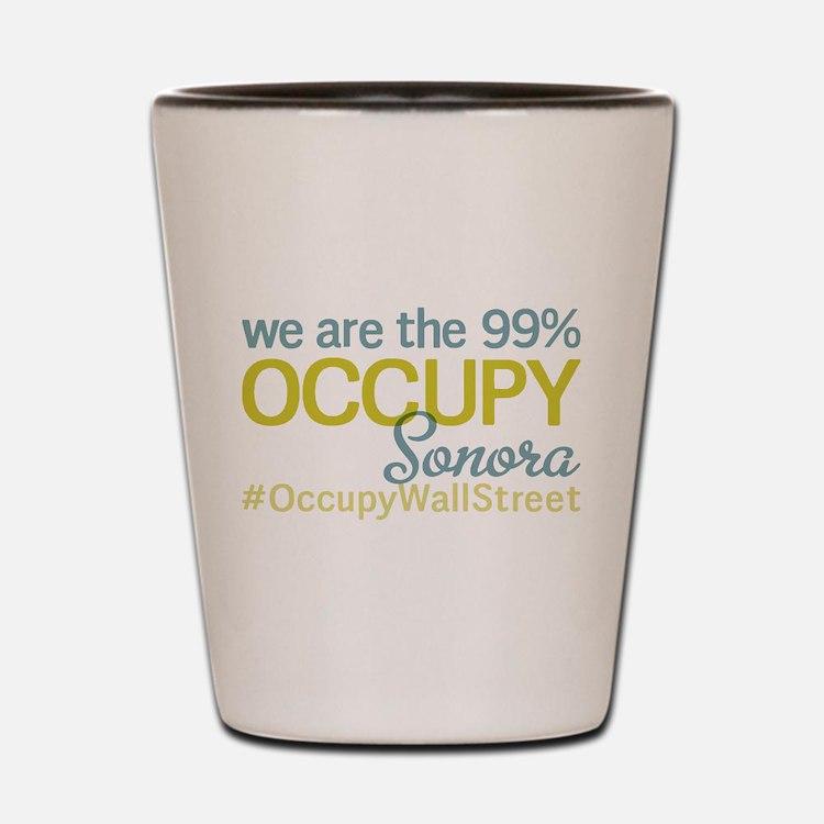 Occupy Sonora Shot Glass