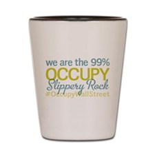 Occupy Slippery Rock Shot Glass