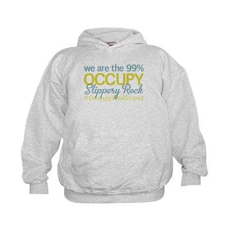 Occupy Slippery Rock Kids Hoodie
