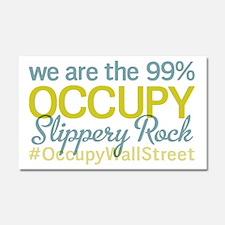 Occupy Slippery Rock Car Magnet 20 x 12