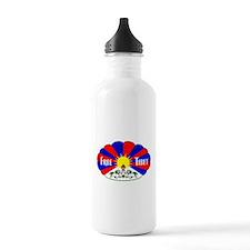 Free Tibet - Human Rights Water Bottle