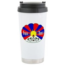 Free Tibet - Human Rights Travel Mug