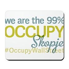 Occupy Skopje Mousepad